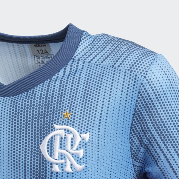 ... b5f68680e2c Camisa CR Flamengo 3 Oficial - Azul adidas adidas Brasil   02e01805748 adidas - Camisa CR Flamengo 1 Infantil SCARLET BLACK CF3464 ... 2adb10b9aaed4