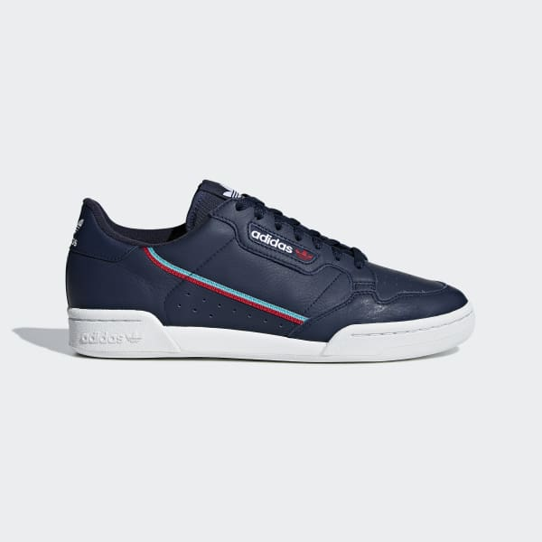 Glamour Lago taupo Pensar  adidas Continental 80 Shoes - Blue | adidas Philipines