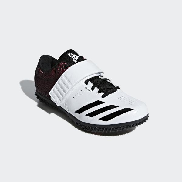 adidas adizero High Jump Shoes - White