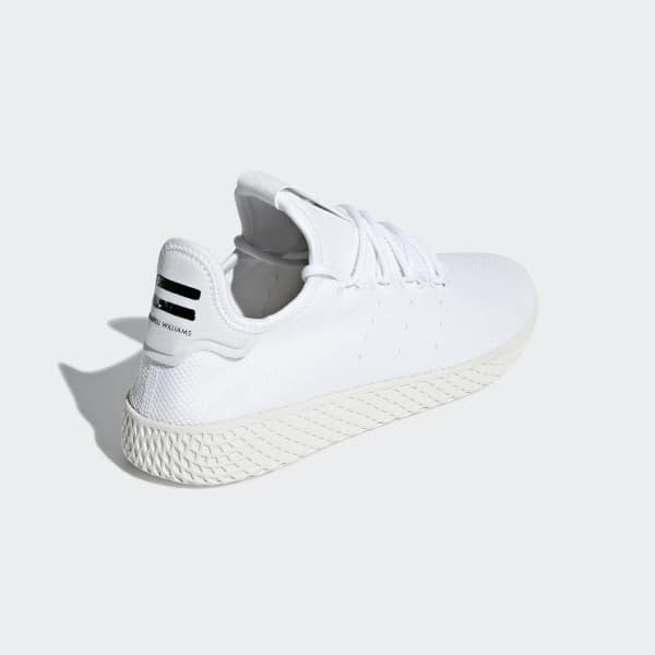 low priced a716d 37015 adidas Pharrell Williams Tennis Hu Shoes - White   adidas UK