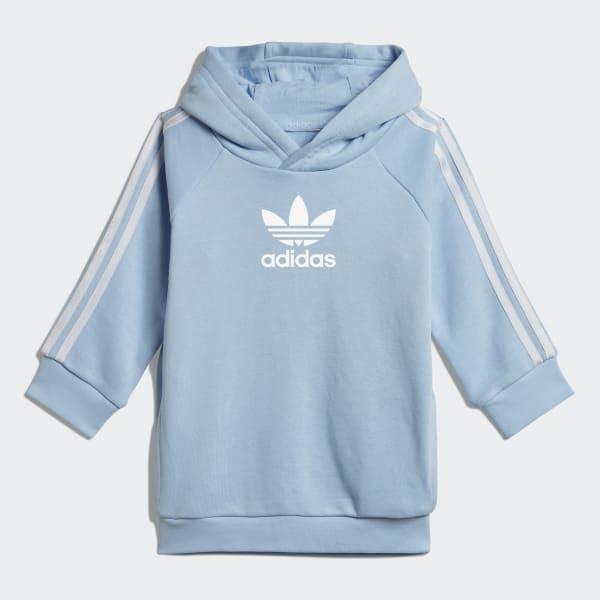adidas Súprava Culture Clash Hoodie - modrá  98e6c7ffee2