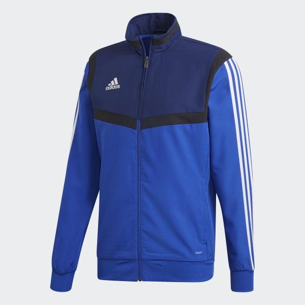 adidas Tiro 19 Presentation Jacket Blue | adidas Deutschland