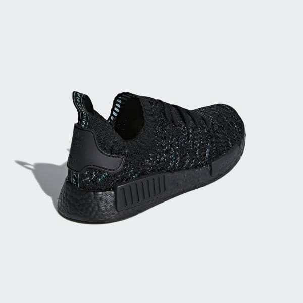 wholesale dealer cd1e2 3a7b5 adidas NMD R1 STLT Parley Primeknit Shoes - Black   adidas UK