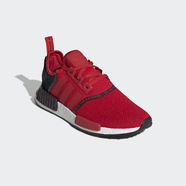 NMD R1 Red and Black Shoes | adidas