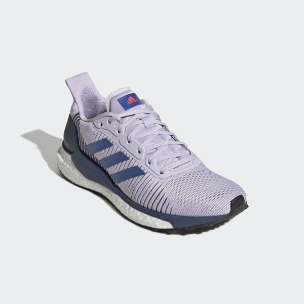 adidas Solar Glide ST 19 Boost Womens Running Shoes Purple