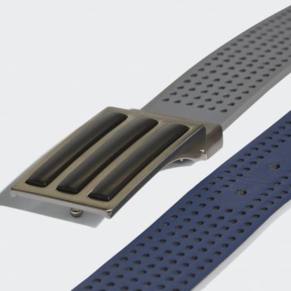 Cinturón Reversible 3 Franjas Perforated