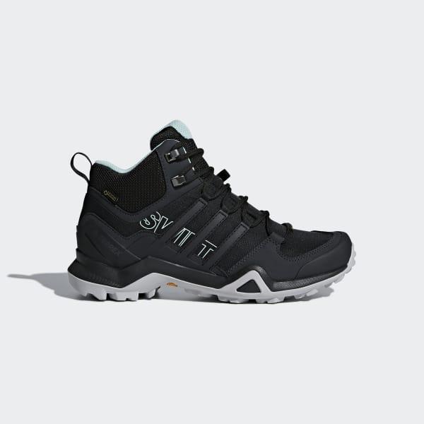 adidas Terrex Swift R2 Mid GTX Shoes - Black  5ffb7f2db2