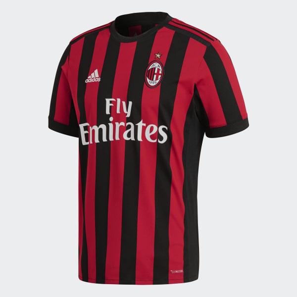 adidas Camiseta de Local AC Milán - Rojo  5c11b9b33e808