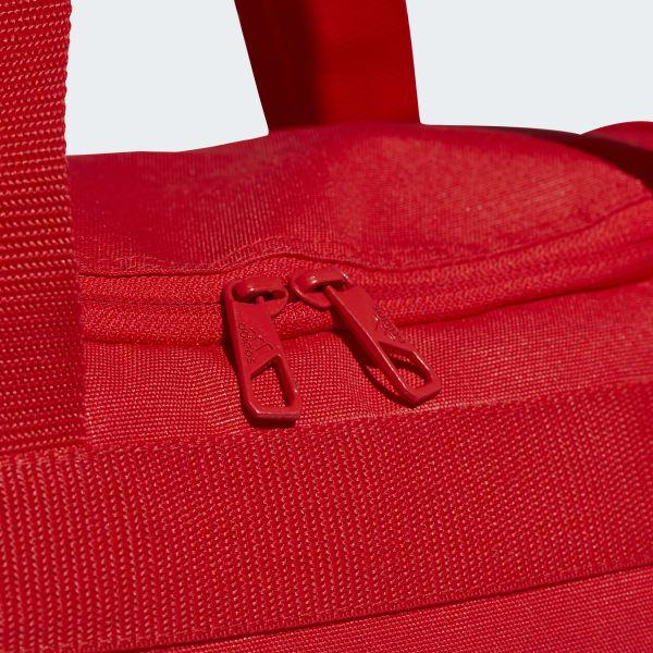 a96cf80971 Bolsa 3 Stripes Duffel Pequena Conversível - Vermelho adidas ...
