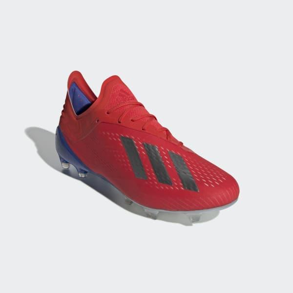 3d8e770a8b47a Zapatos de Fútbol X 18.1 Terreno Firme - Rojo adidas