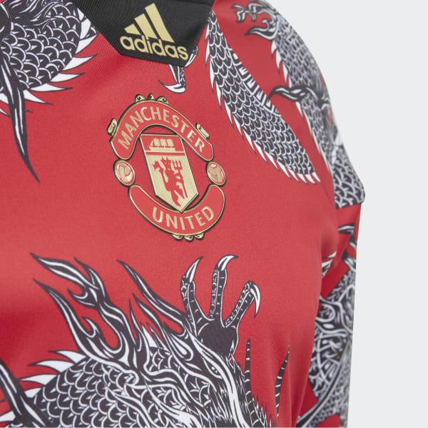 adidas Manchester United CNY Trikot Rot | adidas Austria