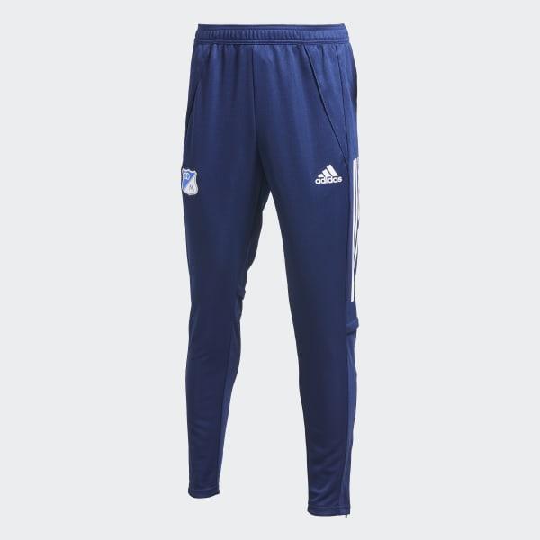 salto Proscrito Absoluto  adidas Pantalón de Entrenamiento Millonarios FC - Azul | adidas Colombia