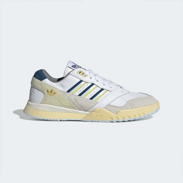 Adidas A R Trainer Cloud White Legend Marine Spring Yellow