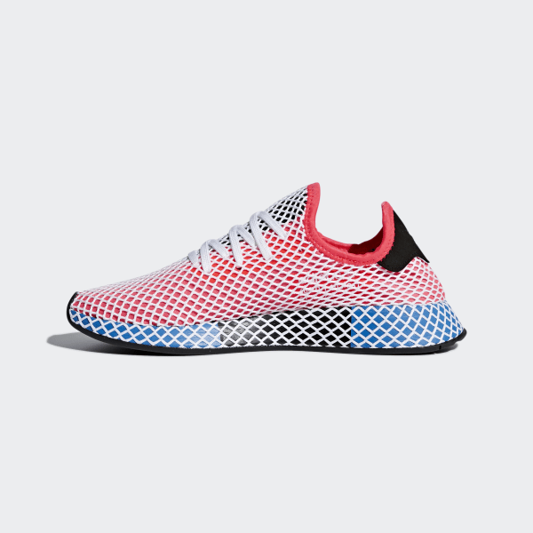 4b0ef9b4c0b13 adidas Deerupt Runner Shoes - Red