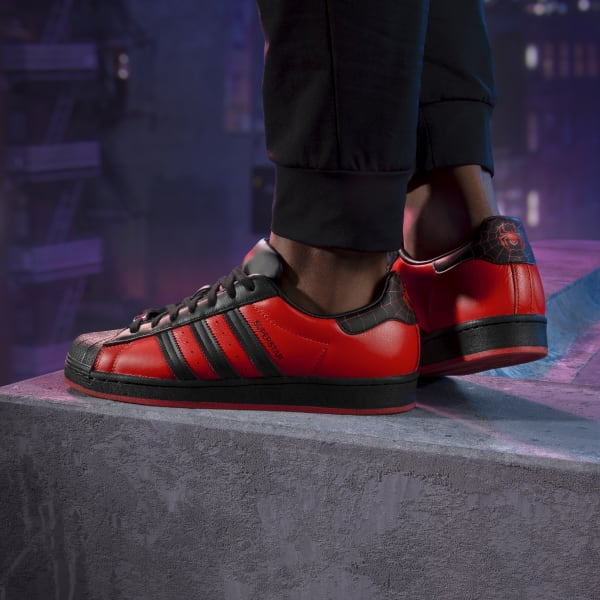 Miles Morales Superstar Shoes