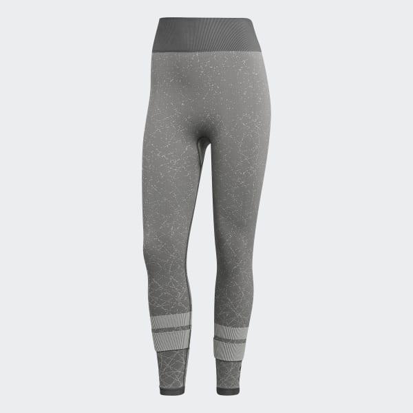 922a86121 Legging Sete Oitavos de Cintura Alta Sem Costuras Wanderlust - Cinza adidas
