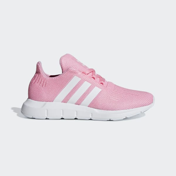 Serpiente También ellos  Kids Swift Run Light Pink and Cloud White Shoes | adidas US