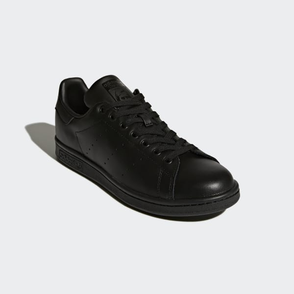 a14a5fd3d2de adidas Stan Smith Shoes - Black