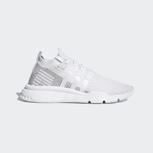 adidas EQT Support Mid ADV Primeknit Shoes - White  381e20d8de9b
