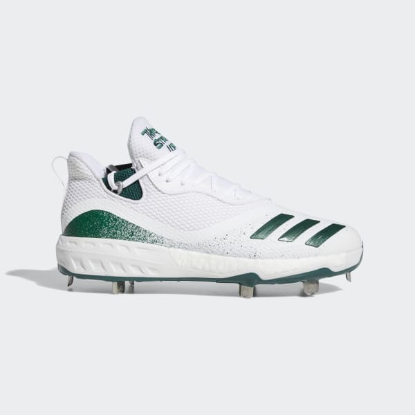 white adidas cleats baseball