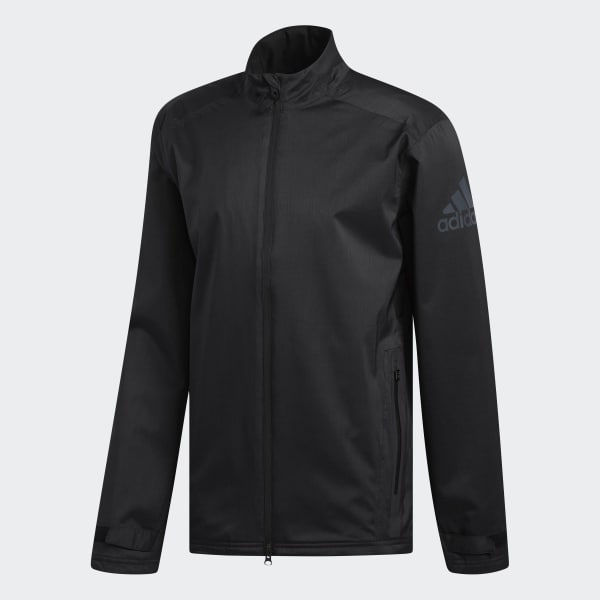 adidas Climaproof Heather Rain Jacket - Black | adidas US
