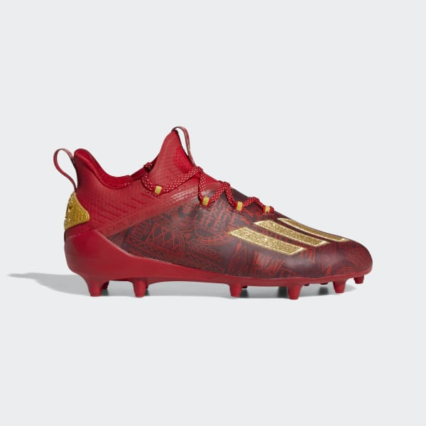 adidas Adizero New Reign Cleats - Red