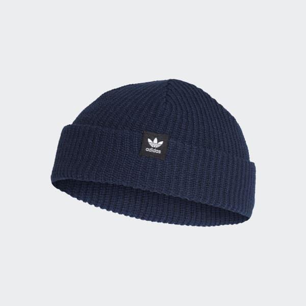 903238013076a BEANIE SHORT BEANIE - Azul adidas