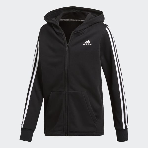 adidas Must Haves 3 Stripes Jacket Blue | adidas Deutschland