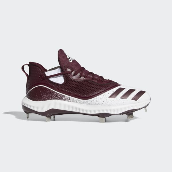 adidas Icon V Bounce Cleats - White