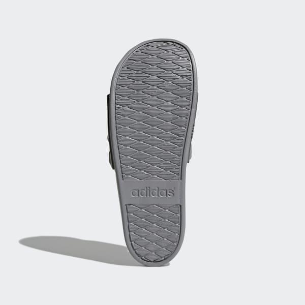official photos 88a6c cab92 adidas adilette Cloudfoam Plus Mono Slipper - grau  adidas S