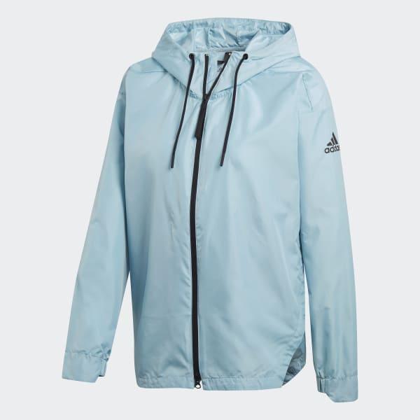 b3ecef442a773 adidas Urban Climastorm Wind Jacket - niebieski | adidas Poland