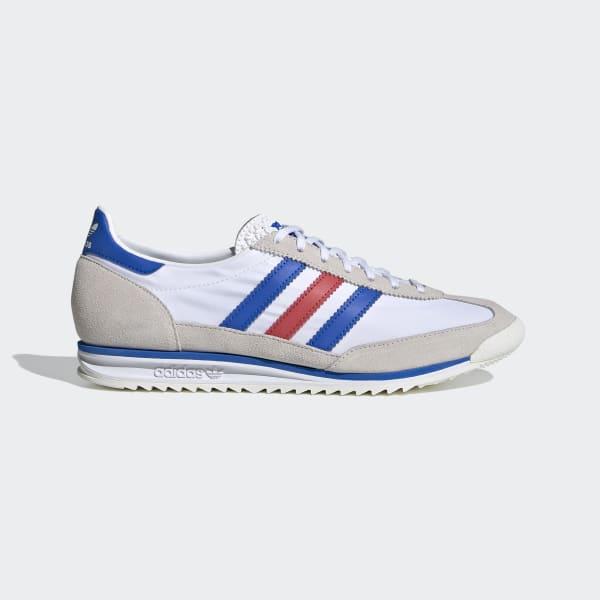 filósofo obturador Legítimo  adidas SL 72 Shoes - White | adidas UK