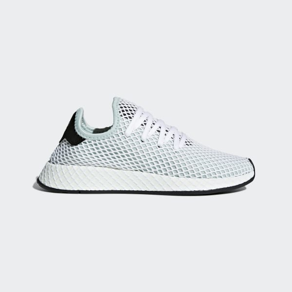 adidas Deerupt Runner Shoes - Green | adidas US | Tuggl