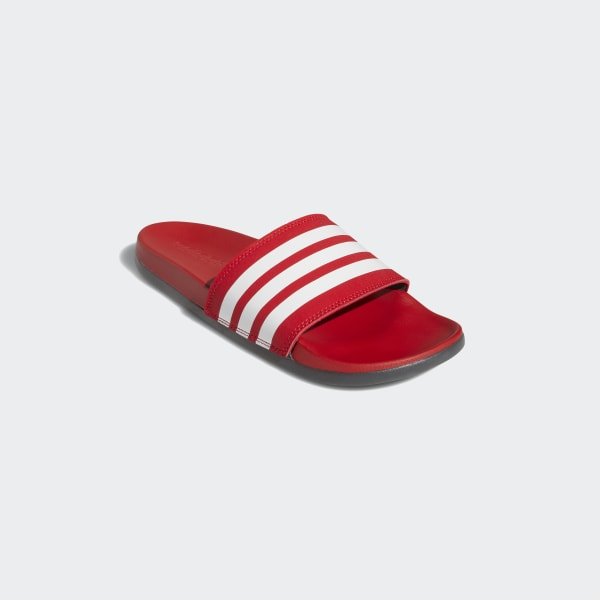 adidas Adilette Comfort Slides - Red
