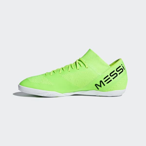 ganador Decisión Ciro  Chuteira Nemeziz Messi Tango 18.3 Futsal - Verde adidas   adidas Brasil
