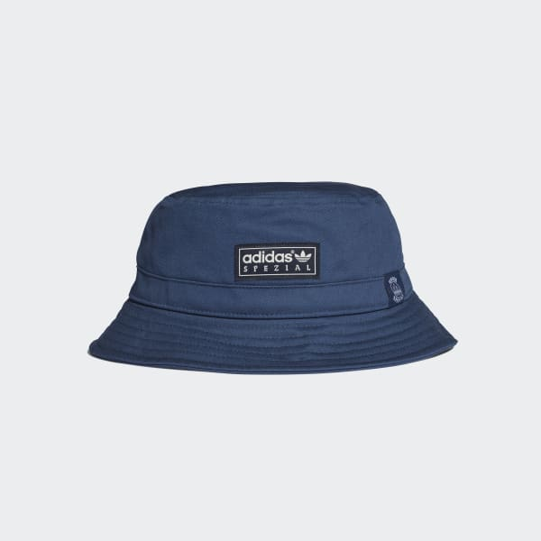 adidas Union Bucket Hat - Blue  7b89cf63dcaf
