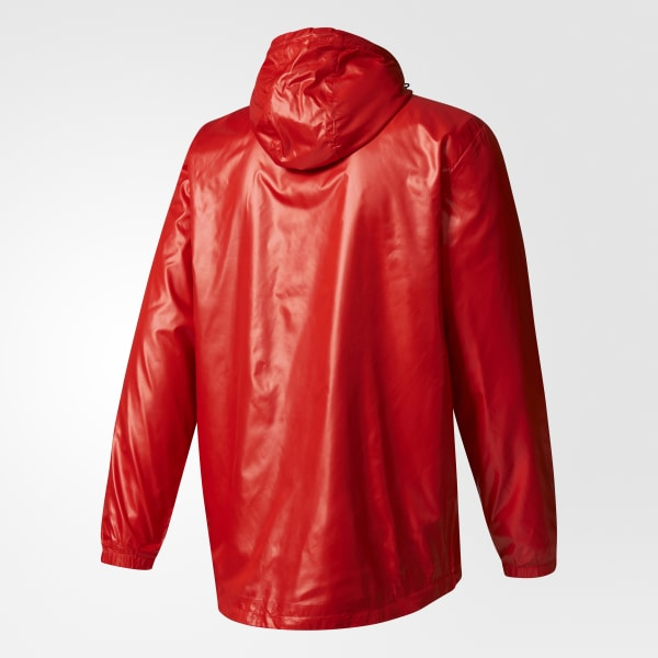 Jaqueta Corta-Vento CR Flamengo Sazonal Especial - Vermelho adidas ... e266b447a2434