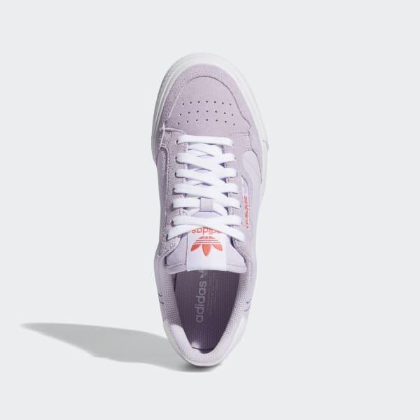 adidas continental purple