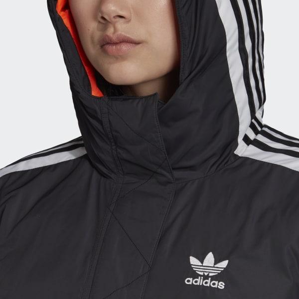 6b660ae1df7e9 adidas Long Synthetic Down Jacket - Black   adidas Belgium