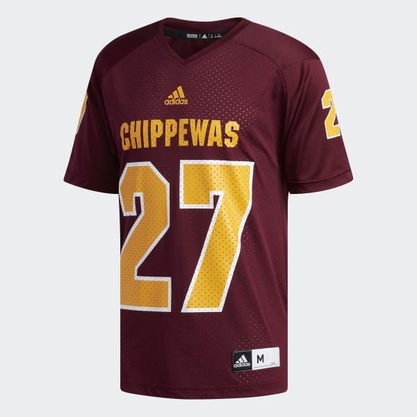 new style 32f6b 56729 adidas Chippewas Antonio Brown Replica Football Jersey - Red   adidas US