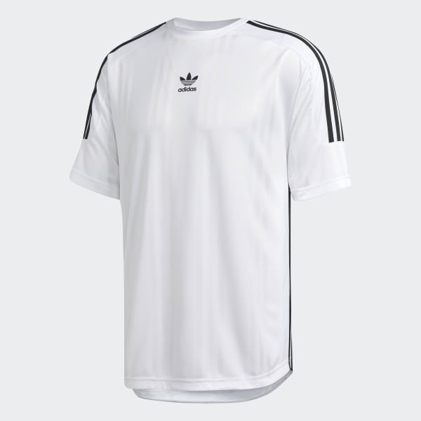 f1e7408c9ac Camiseta Jaq 3 Stripes - Branco adidas