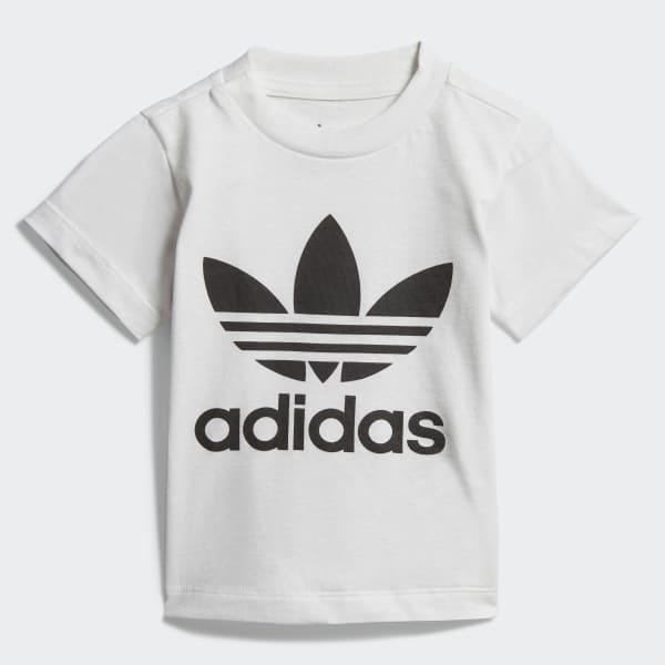 adidas Trefoil T Shirt Weiß | adidas Austria