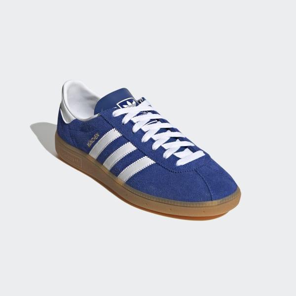 Contando insectos helicóptero Arthur Conan Doyle  adidas München Shoes - Blue | adidas UK