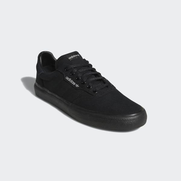 Adidas 3MC Vulc Schoenen zwart | Adidas Originals