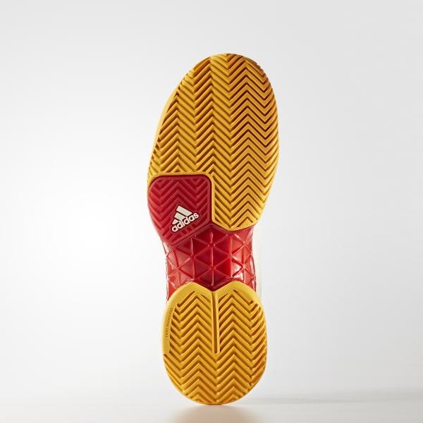 2e8baf8f8483 adidas Men s Barricade 2017 Pharrell Williams Shoes - Red