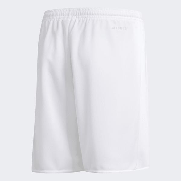 d7e0185cd79dc Shorts Parma 16 Infantil - Branco adidas