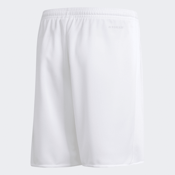 Shorts Parma 16 Infantil - Branco adidas  c707fb1c31463