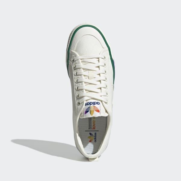 adidas Nizza Pride Schoenen Wit   adidas Officiële Shop