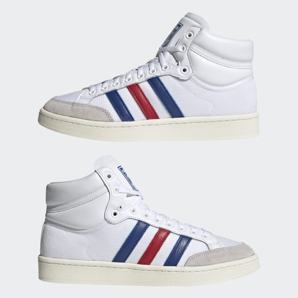 Chaussures Americana Hi blanches et bleues | adidas France