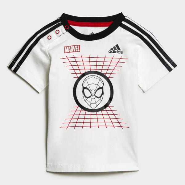 best place meet coupon codes Ensemble Marvel Spider-Man Summer - Blanc adidas | adidas France
